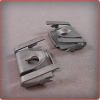 Fourslide Stamping of a Steel Clip for the Automotive Industry
