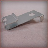 Fourslide Stamping of a Cold Rolled Steel Clip for the Automotive Industry