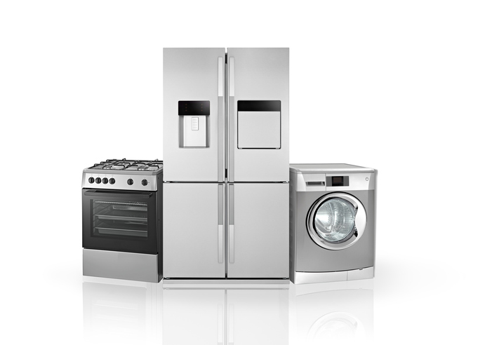 springs and metal parts in household appliances